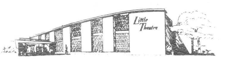 Drawing of Little Theatre